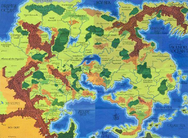 Darlene map
