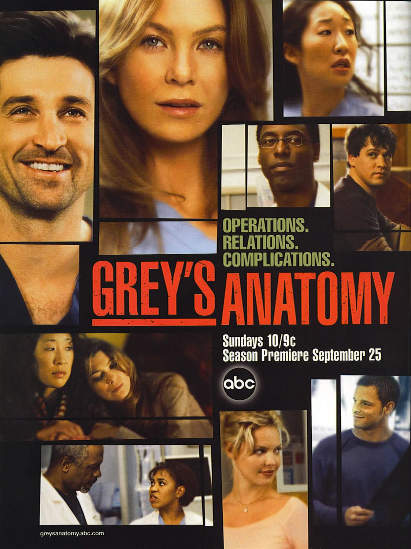 Image - Season 2 poster.jpeg   Grey\'s Anatomy Universe Wiki   FANDOM ...