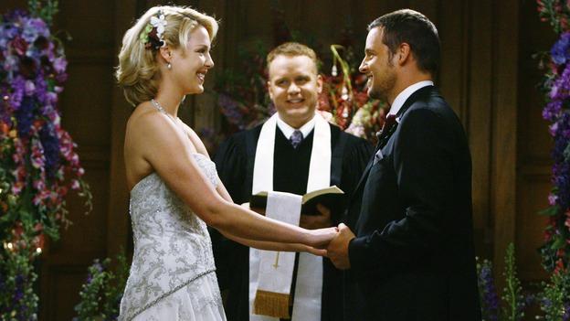 Resultado de imagem para greys alex izzie wedding