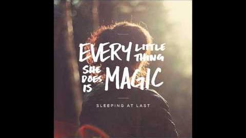 """Every Little Thing She Does is Magic"" - Sleeping at Last"