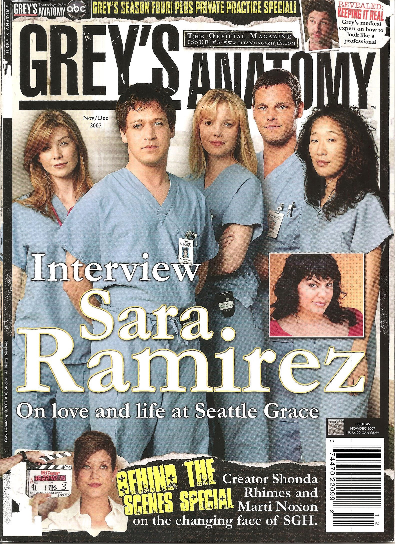 Grey\'s Anatomy Official Magazine: Issue 6 | Grey\'s Anatomy Universe ...