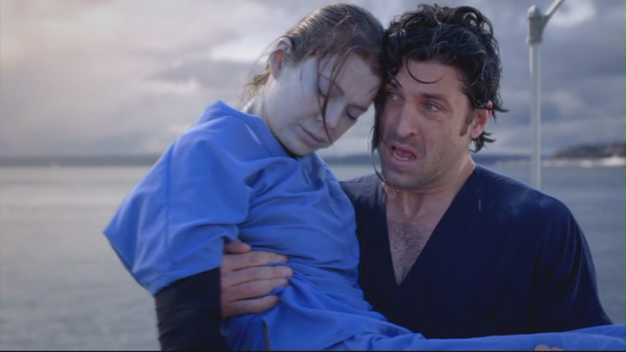 Meredith grey and derek