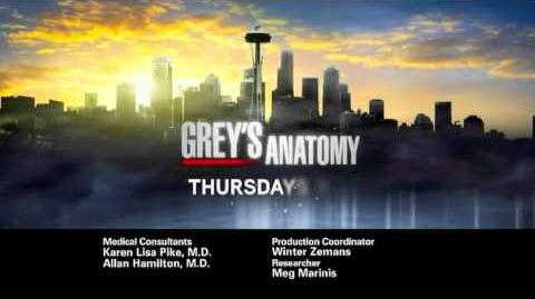 Grey's Anatomy S7 March Promo
