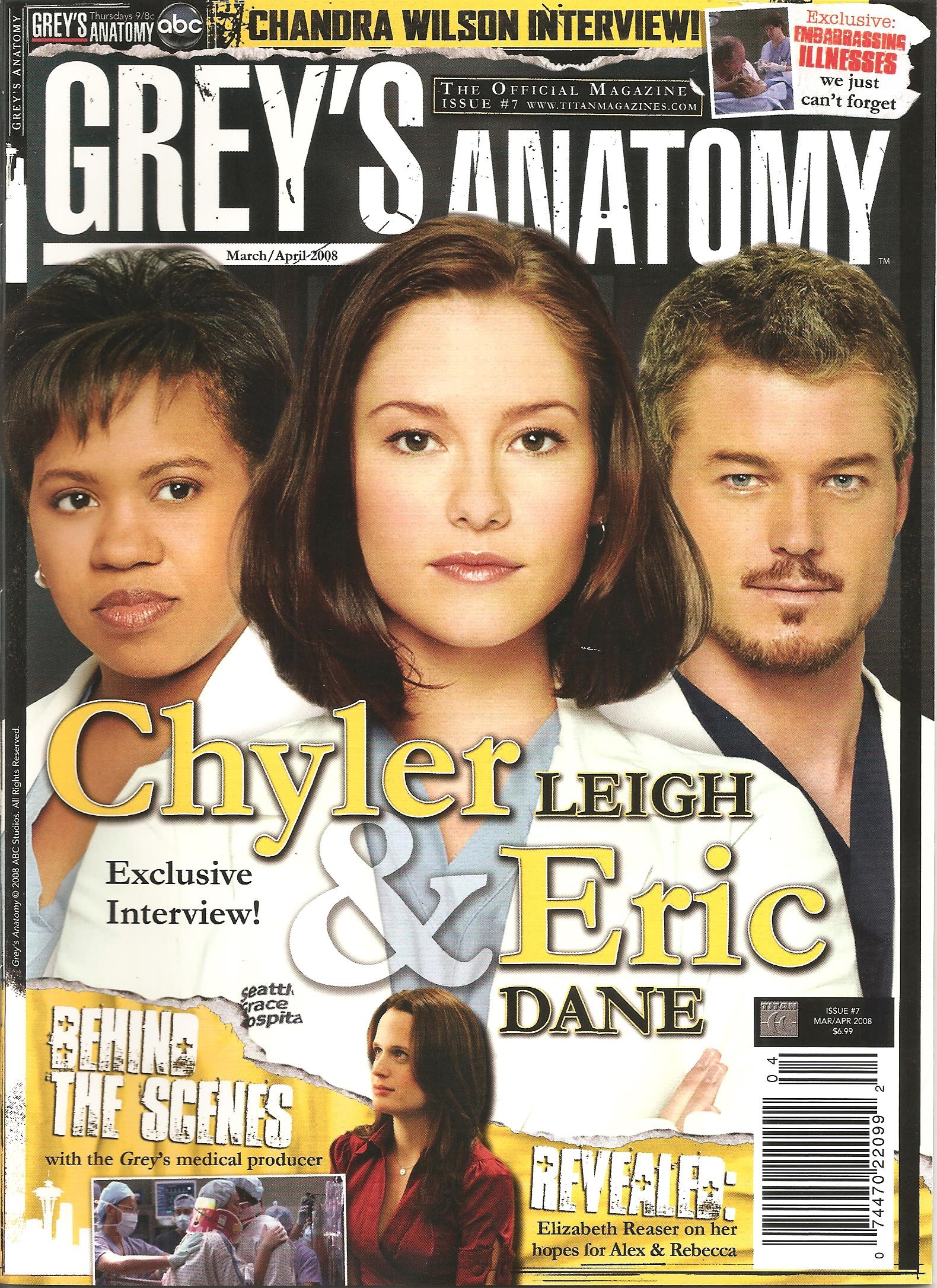 Grey\'s Anatomy Official Magazine: Issue 7 | Grey\'s Anatomy Universe ...