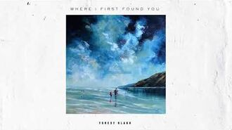 """Where I First Found You"" - Forest Blakk"