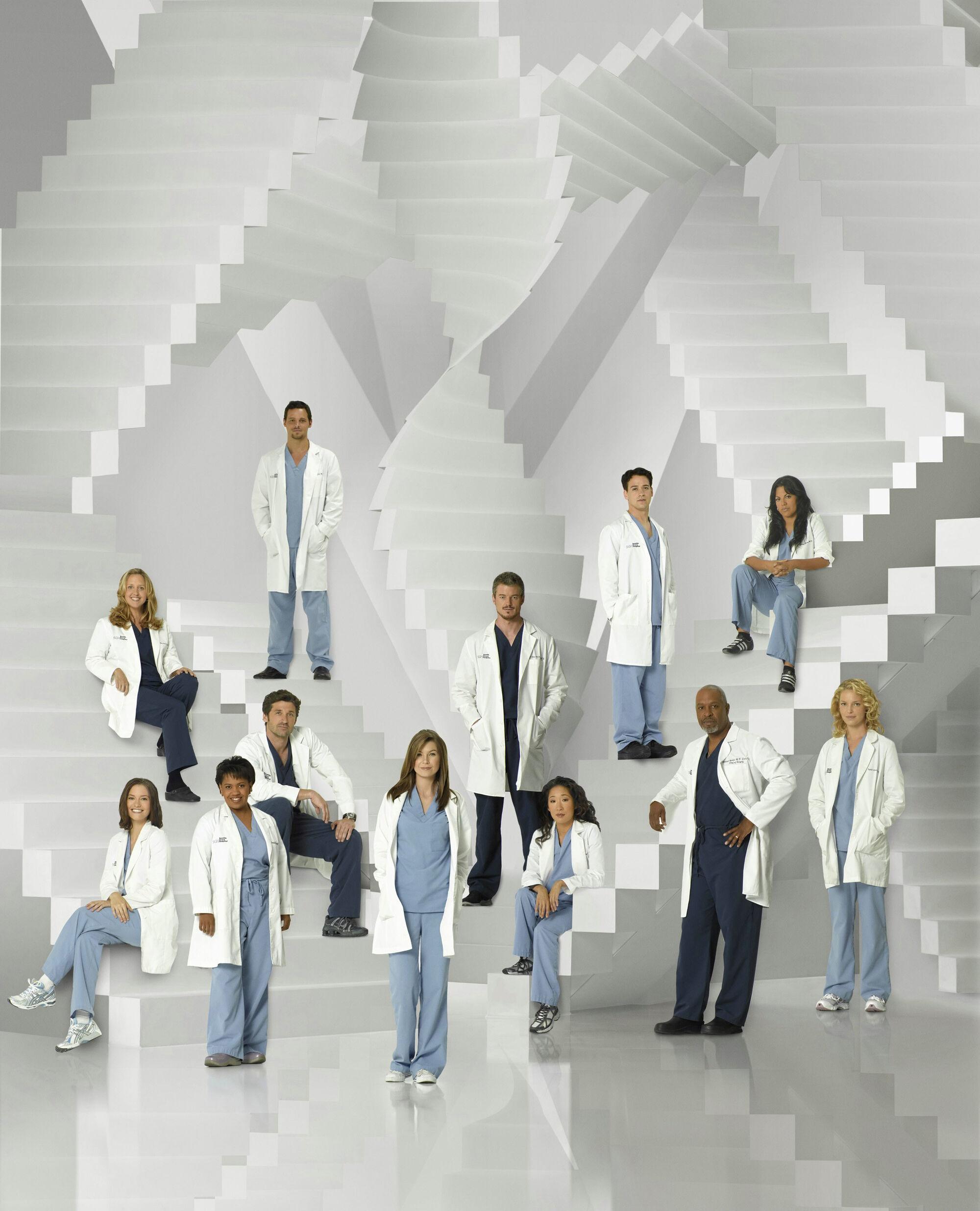 Berühmt Greys Anatomy Serie 4 Zeitgenössisch - Anatomie Von ...
