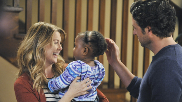 Image result for grey's anatomy meredith and zola