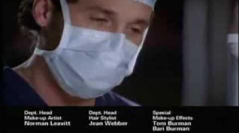 Grey's Anatomy 5x19 Promo