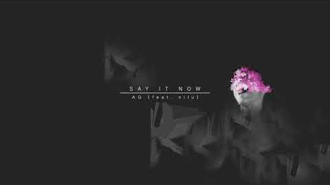 """Say It Now"" - AG feat"