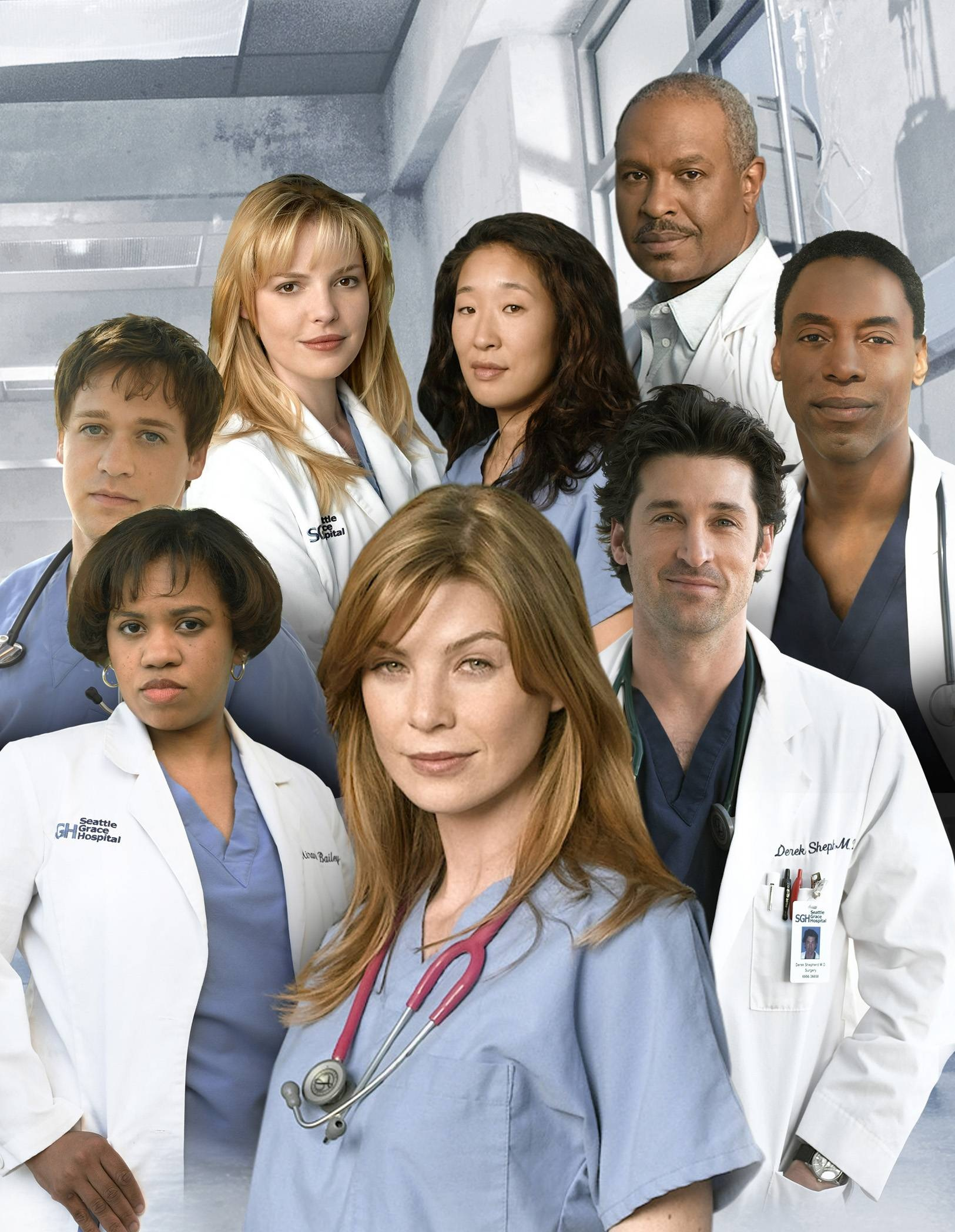Image - S1 cast.jpeg | Grey\'s Anatomy Universe Wiki | FANDOM powered ...