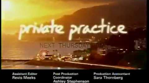Private Practice 3x17 Promo Video - Triangles