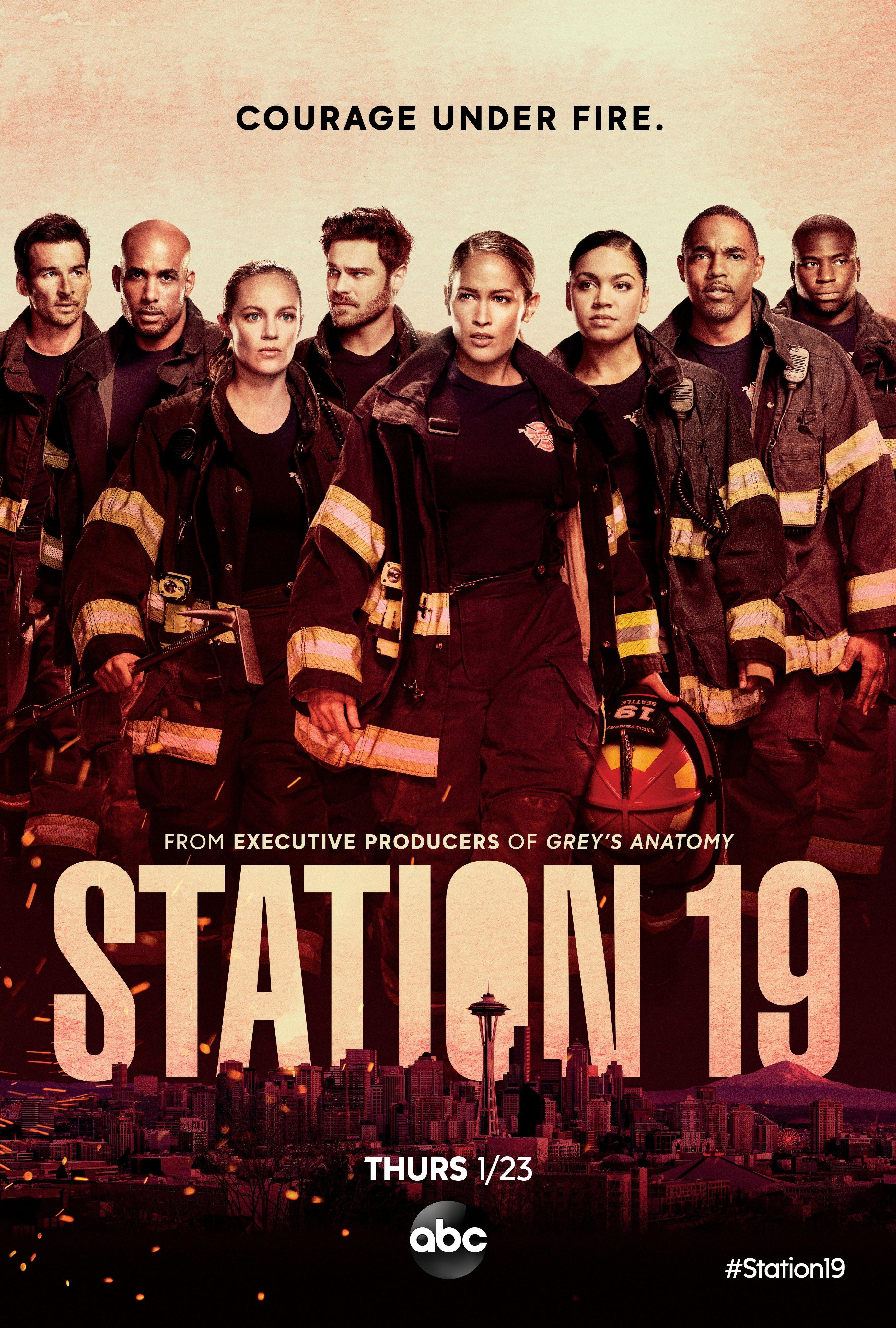 Image result for station 19 poster