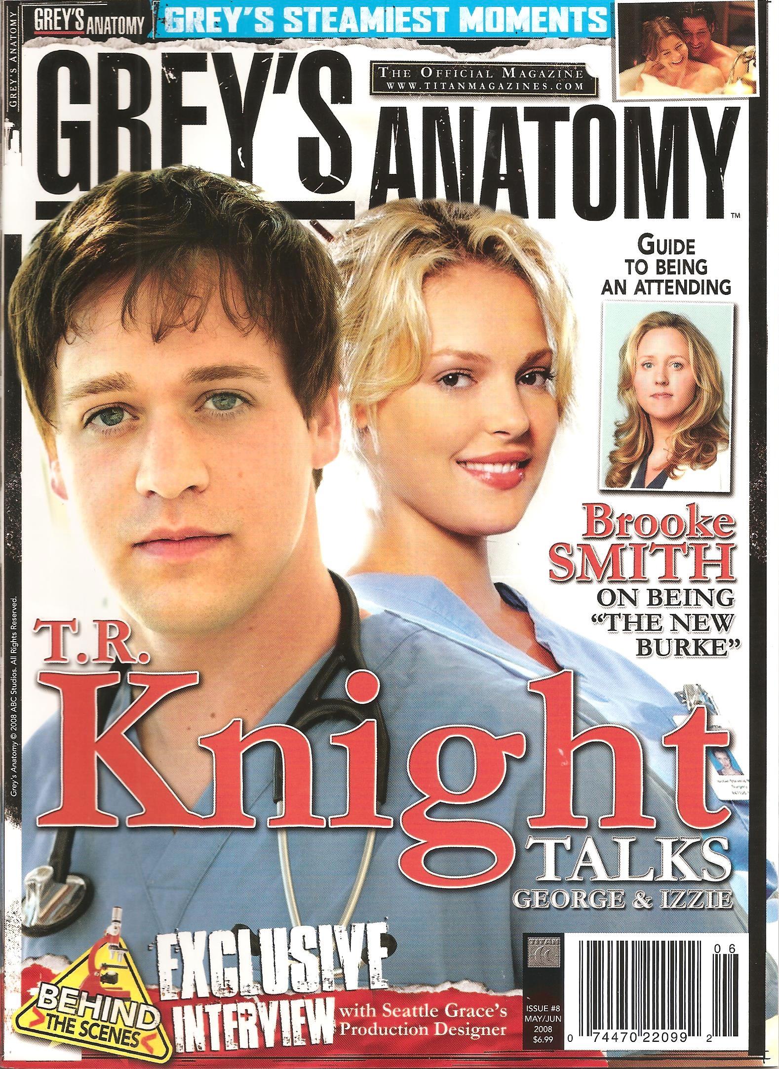 Greys Anatomy Official Magazine Issue 8 Greys Anatomy Universe