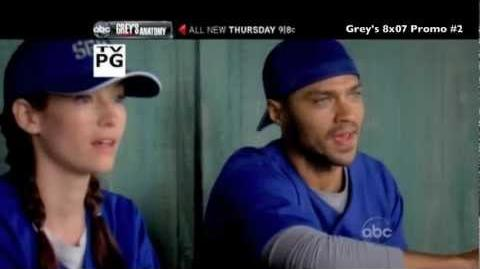 Grey's Anatomy 8x07 Promo