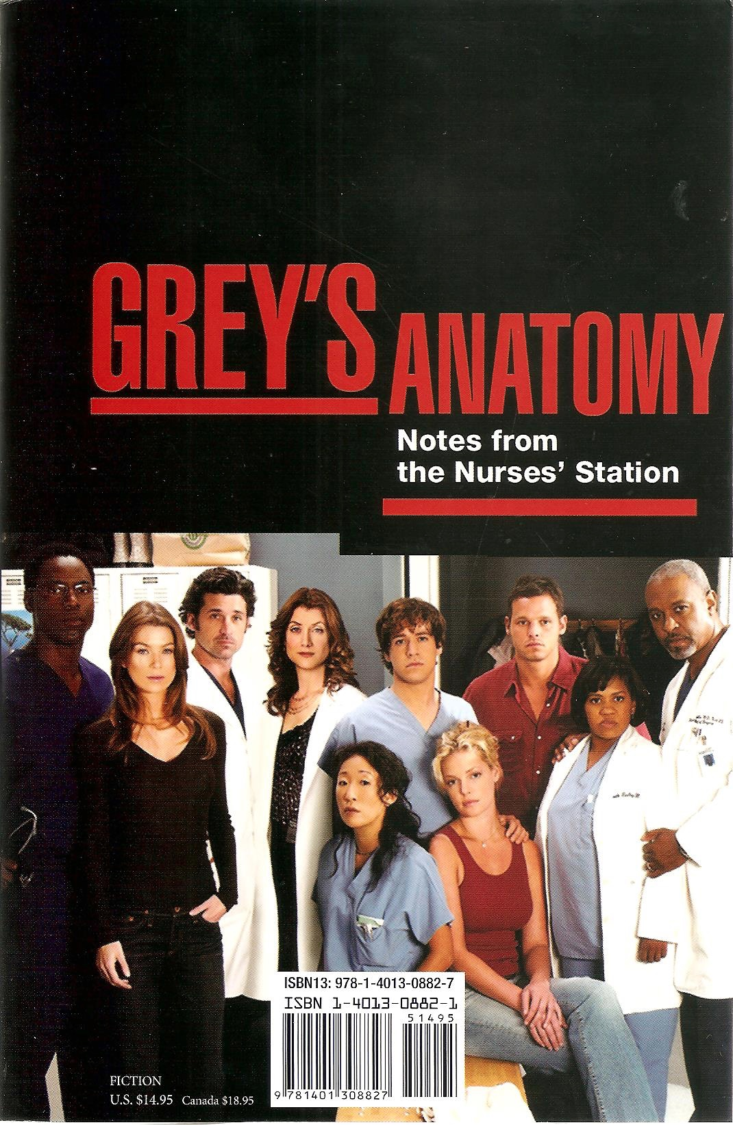 Notes From The Nurses Station Greys Anatomy Universe Wiki