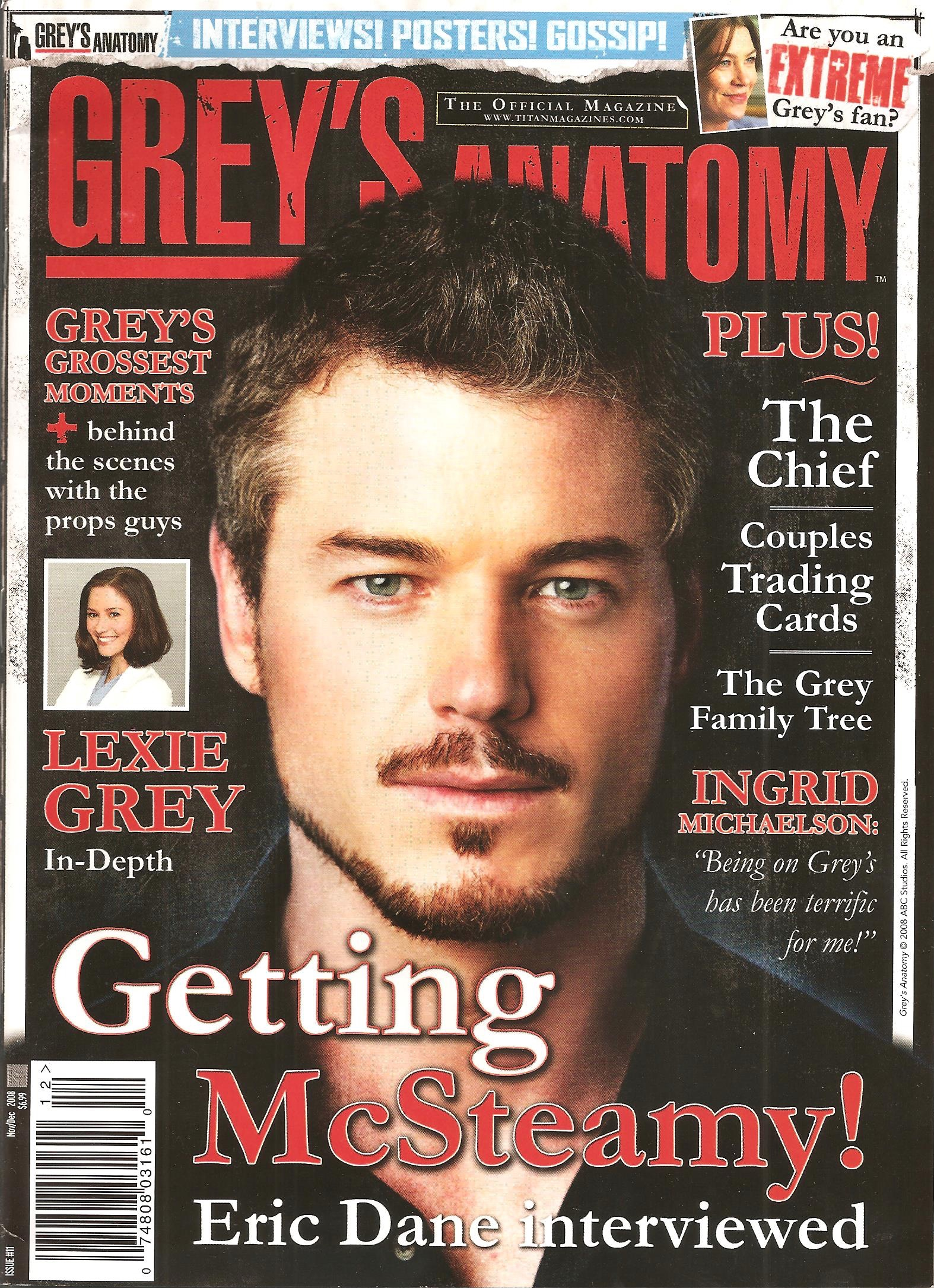 Grey\'s Anatomy Official Magazine: Issue 11 | Grey\'s Anatomy Universe ...