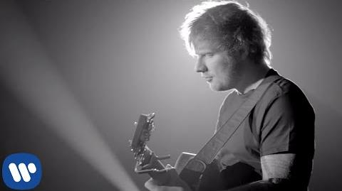"""One"" - Ed Sheeran"