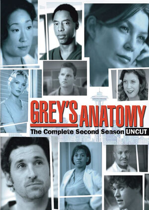 Greys Anatomy - Season 2 (2005) TV Series poster on cokeandpopcorn