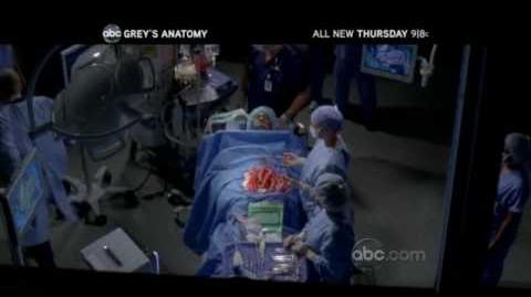 Grey's Anatomy 6x04 Promo