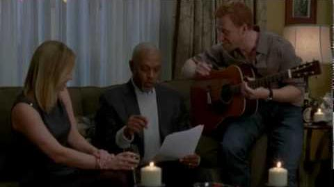"""""""Baby, It's Cold Outside"""" - James Pickens, Jr.; Jessica Capshaw; and Kevin McKidd"""