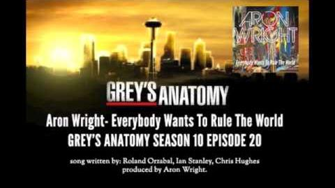 """""""Everybody Wants to Rule the World"""" - Aron Wright"""