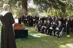 Georges begravelse