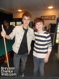 Justin and Greyson