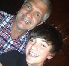 Greyson and his dad