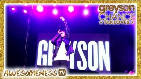 Greyson Chance Takeover (official trailer) on AwesomenessTV