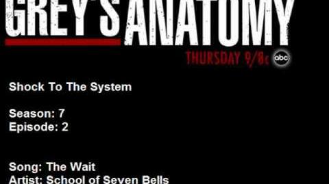 702 School of Seven Bells - The Wait