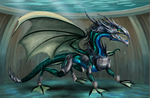Adult Water Dragon (armor)