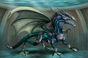 Adult Water Dragon (armor)