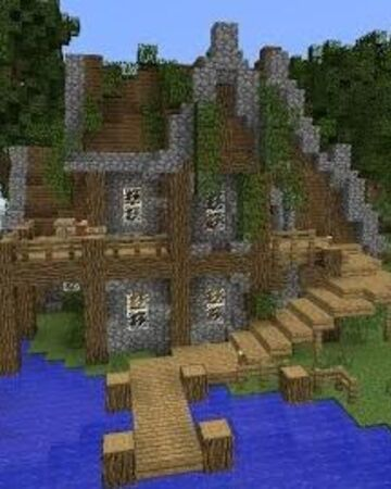 Minecraft Rustic House Tutorial Grian Wiki Fandom