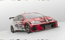 Preview volkswagen golf gti tcr