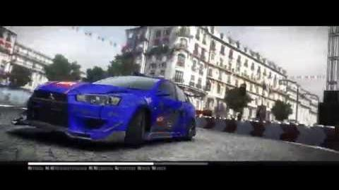 GRID 2 VERY HARD De La Seine Mitsubishi EVO X PUPS EDITION