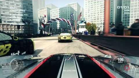 GRID 2 Official Gameplay - Chicago Street Racing