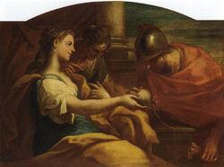 Ariadne und Theseus