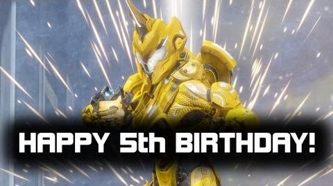 Happy 5th Birthday Grifball!