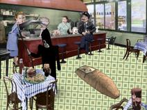Land of the Living restaurant