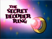 The Secret Decoder Ring Title Card