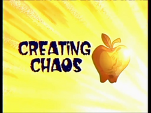 Creating Chaos Title Card