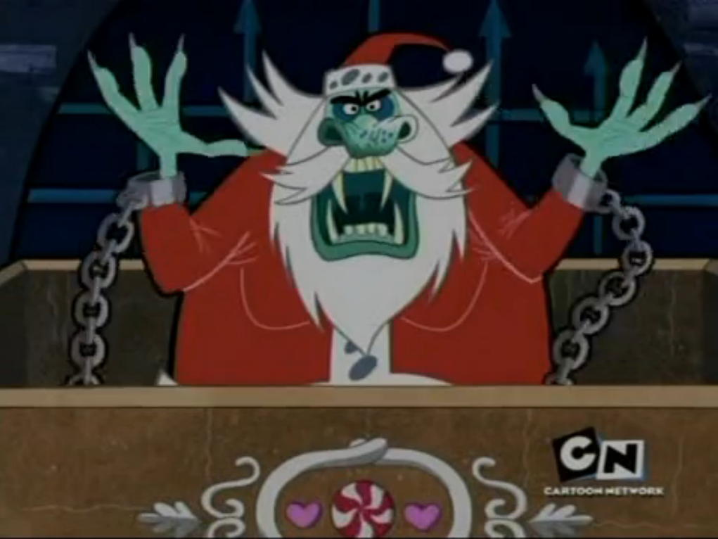 santa claus the grim adventures of billy mandy the grim adventures of billy and mandy wiki fandom powered by wikia - Billy And Mandy Christmas