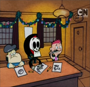 Little Grim Billy and Mandy Save Christmas