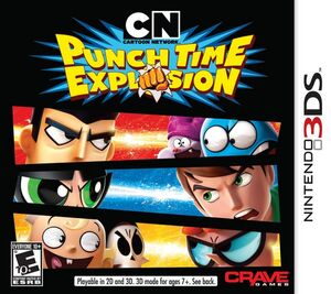 Cartoon Network Punch Time Explosion cover art