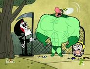 Billy se convierte en superhéroe