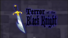 Terror of the Black Knight Title Card