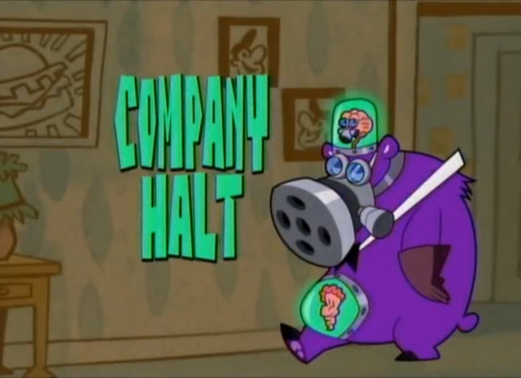 Company Halt The Grim Adventures Of Billy And Mandy Wiki