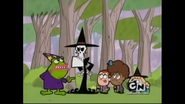 S1E01A Toadblatt and Grim at the forest