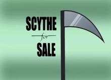 Scythe for Sale Title Card