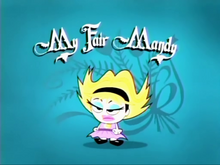 My Fair Mandy Title Card